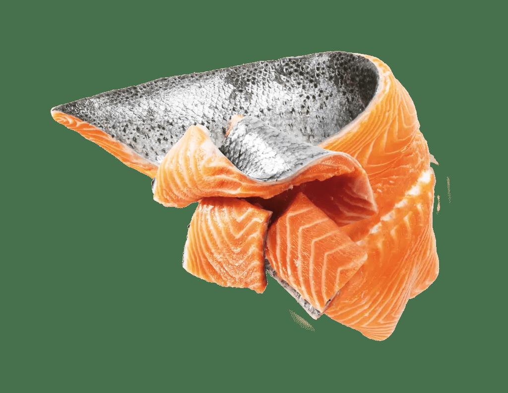 Avec du Saumon Atlantique Frais